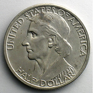 Numismatic foto  Coins World coins United States Commemorative coinage Half Dollar   1935   Daniel Boone Bicentenial    SUP