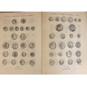 DE SAULCY   Numismatique de la Terre-Sainte (Monnaies autonomes de la Palestine et de l'Arabie Pétrée)