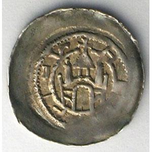 Denier   Henri I de Hasenberg  (1181-1190)    TTB+/SUP