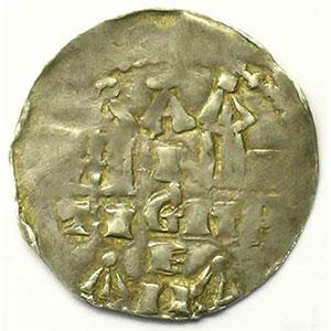 Denier   Henri II (1002-1024)   autonomie épiscopale    TB