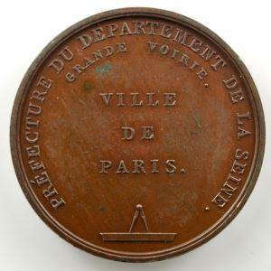 Desnoyers   Médaille en bronze   Surveillance des Bâtiments   1812    SUP