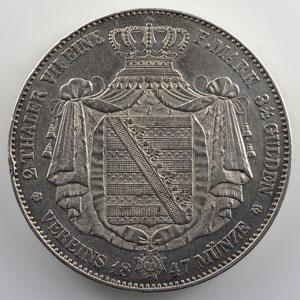 Doppeltaler   1847 F    TTB