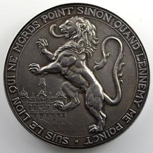 Dubois Henri   Médaille en argent  61mm    SUP/FDC