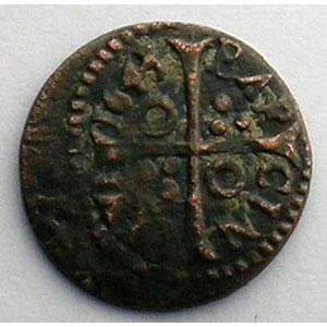 Duplessy 1616   Denier   BARCELONE   1643    TTB