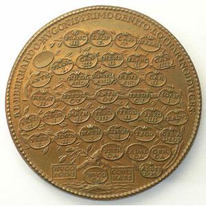 Eberhard   bronze   47,5 mm    SUP
