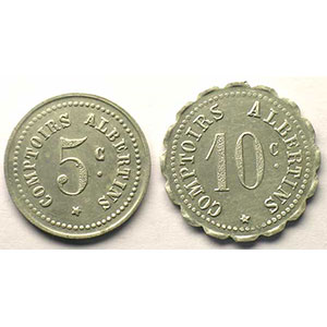 Elie 10.1 et 10.3   5 c et 10 c   Al, R et Al, Rl   21 et 23,5mm    TTB/TTB+