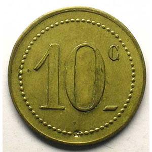 Elie 10.2  10 c   Lt,R   22 mm    TTB+