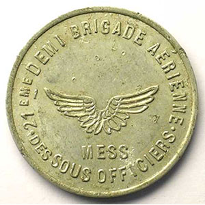 Elie 10.3   0,25 (Franc)   Alu, R   23mm    TTB