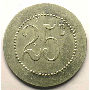 Elie 10.3   25 c   Al,R   26,5 mm    SUP
