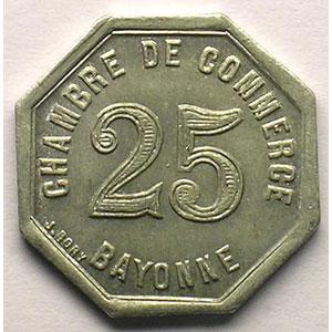 Elie 10.4   10 c   1920  Al,8  22mm    SUP