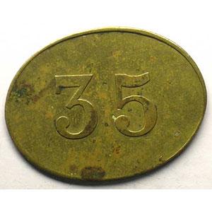 Elie 10.4   35 (c)   22x29 mm    TTB