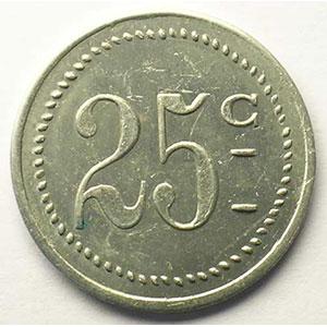 Elie 20.3   25 c   Al, R   26mm    TTB