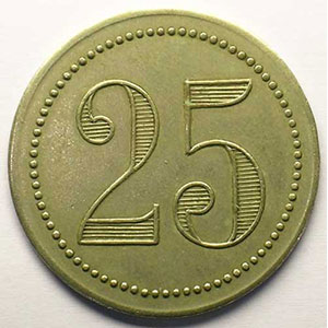 Elie  25,1 - Paynat  10   25 (c)   Ma, R   33 mm   TTB+