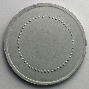 Elie A180.1   20 c   Al, R  30mm    TTB