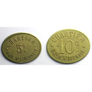 Elie C730.1 et C730.2   5 c et 10 c   Lt, Ov  20x25mm et 23x29mm    TTB