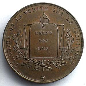 F.Pingret   Médaille en bronze   40mm    SUP