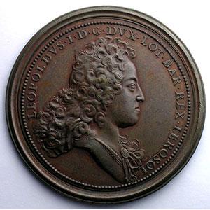 Ferdinand de SAINT-URBAIN   Grands Travaux pour les Ponts et Chaussées   1726   bronze   60mm    TTB+
