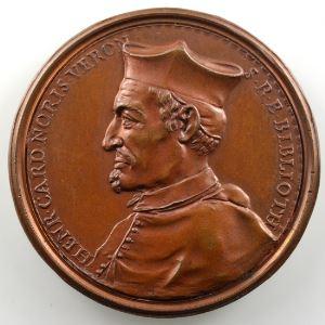 Ferdinand de Saint-Urbain   Médaille en bronze  37mm   Cardinal Norris    SUP/FDC