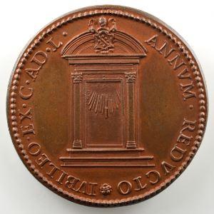 Ferdinand de Saint-Urbain   Médaille en bronze  39mm   Clément VI (Pape de 1342 à 1352)    SUP/FDC