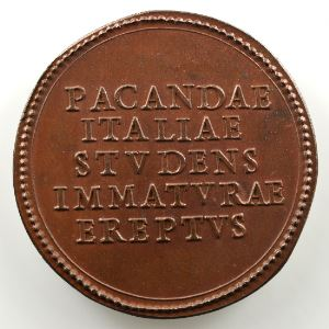 Ferdinand de Saint-Urbain   Médaille en bronze  40,5mm   Benoît XI (Pape de 1303 à 1304)    SUP/FDC