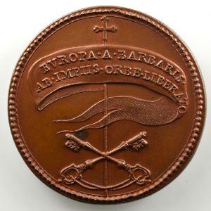 Ferdinand de Saint-Urbain   Médaille en bronze  41mm   Jean XXI (Pape de 1276 à 1277)    SUP/FDC