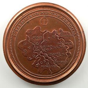 Ferdinand de Saint-Urbain   Médaille en bronze  47.5mm   Albert    SUP/FDC
