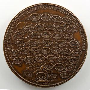 Ferdinand de Saint-Urbain   Médaille en bronze  48mm   Eberhard    SUP/FDC