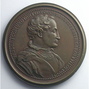 Ferry I, Comte de Vaudémont   bronze   47 mm    TTB+