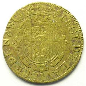Feuardent 7666   cuivre   (XVI° siècle)    TTB