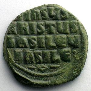 Follis   (Constantinople)    TB/TTB