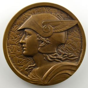 FRAISSE F.   Médaille en bronze  50mm   Offert pas le Petit Journal    SUP/FDC