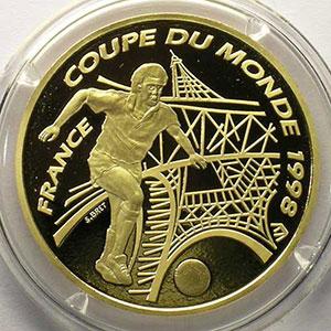 G.10   100 Francs   France   1996    BE