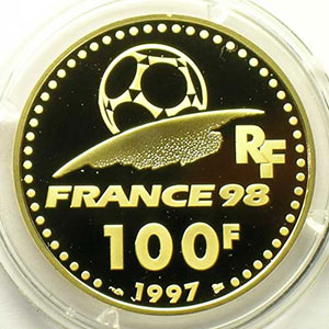 G.12   100 Francs   Asie   1997    BE