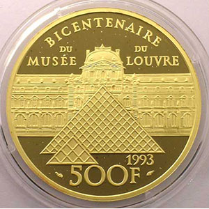 G.12   500 Francs Vénus de Milo   1993    BE