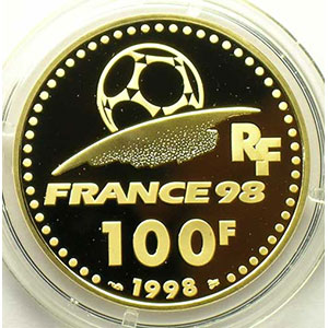 G.15   100 Francs   Europe   1998    BE
