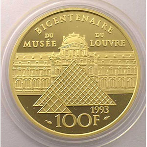 G.18   100 Francs   L'Infante Marie-Marguerite    1993    BE