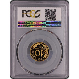 G.293P   10 Centimes   1974 or    PCGS-SP68    FDC