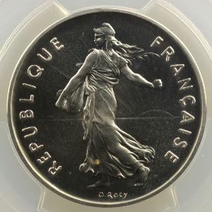 G.771P   5 Francs   1975 argent    PCGS-SP68    FDC