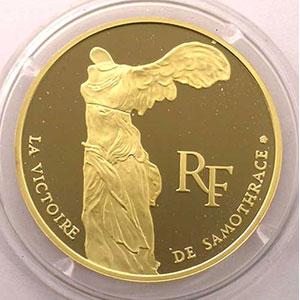 G.8   100 Francs   La Victoire de Samothrace    1993    BE