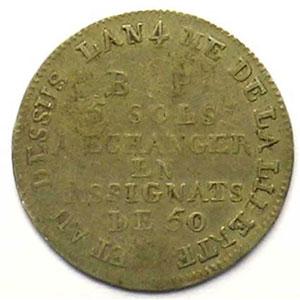 Gad.Elie 9.1   5 Sols   1792    TB+