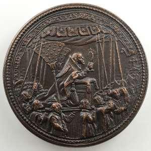 Gaspare Morone   Médaille en bronze   42.5mm   Procession du Corpu Domini    SUP