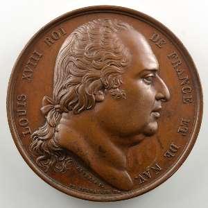 Gayrard/De Puymaurin   Médaille en bronze  41mm   1822    SUP/FDC