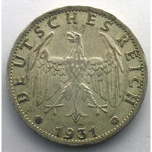 GDM 31   3 Reichsmark   1931 J    TTB+