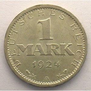 GDM 34   1 Mark   1924 A    SUP