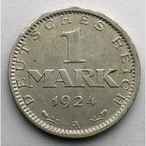 GDM 34   1 Mark   1924 A    TTB+