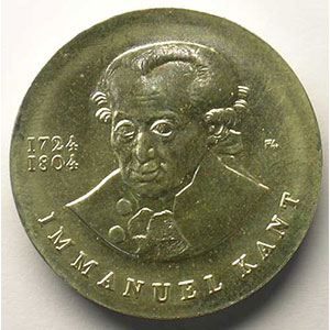 GDM 729   20 Mark   Immanuel Kant   1974    SUP/FDC