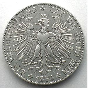 GDM 8   Vereinstaler   1860    TTB