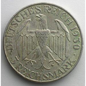 GDM 86   3 Reichsmark   1930 F  Zeppelin    TTB+
