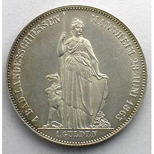 Gedenkgulden   1863    SUP