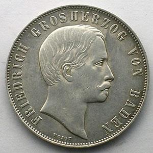 Gedenkgulden   1863    TTB+